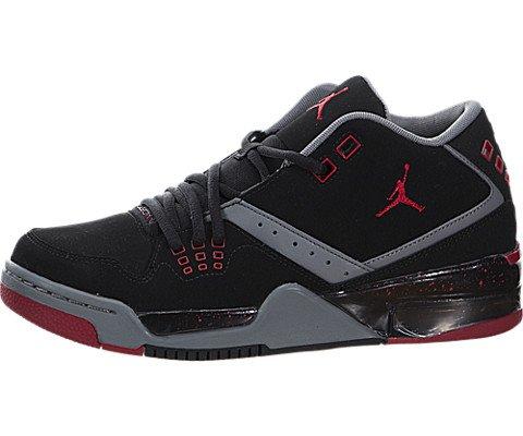 JORDAN JORDAN Real Turnschuhe 317821 021 JORDAN FLIGHT 23 BG Größe 38.5 Schwarz / grau / rot (Schuhe Real Jordan)