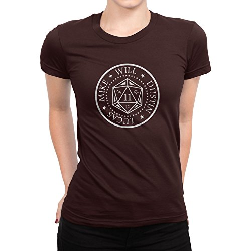 Planet Nerd Strange Cube - Damen T-Shirt Braun
