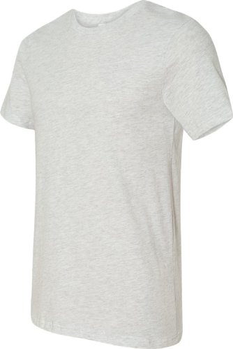 Belowty Bella + Canvas Unisex Jersey Short Sleeve Tee grau - asche
