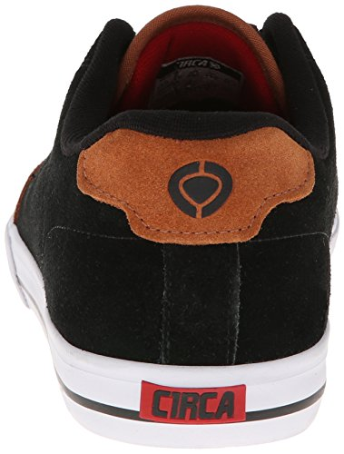 C1Rca - Lopez  50, Sneakers, unisex Black/Leather Brown