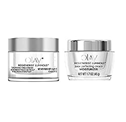 Olay Regenerist Luminous Tone Perfecting Cream, 0.5 Ounce + Olay Regenerist Luminous Tone Perfecting Cream, 1.7 oz. + Curad Dazzle Bandages 25 Ct