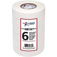 Sportstape Hockey rollo de cinta–6multipack (color blanco)