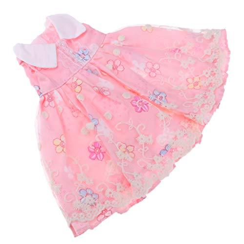 B Baosity Hübsche Puppe Kleid Prinzessin Abendkleid Puppenbekleidung Für 1/4 Bjd Msd Nacht Lolita Puppe Party Dress up - # 5 (Dress Up Doll Für Jungen)