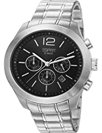 ESPRIT ES105371003–Uhr Analog Quarz Herren Edelstahl-Armband Silber