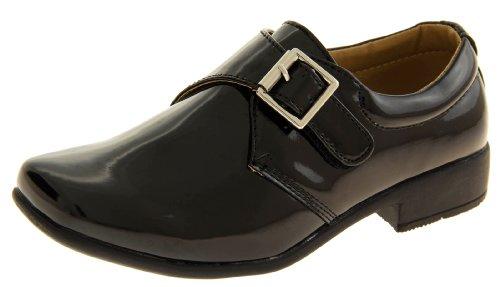 Footwear Studio , Chaussures de ville à lacets pour garçon Noir - noir