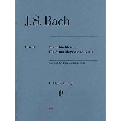 Petit livre d'Anna Magdalena Bach 1725 - Piano