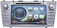 Magic Touch 8 Inch Car GPS and DVD for Toyota Camry - Model 2007-2011