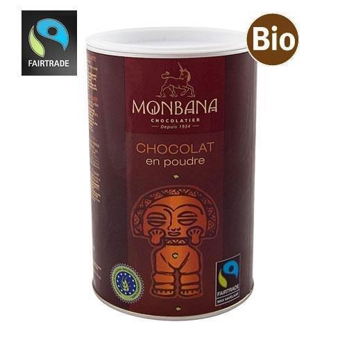 Monbana Fairtrade Schokolade Dose 1Kg