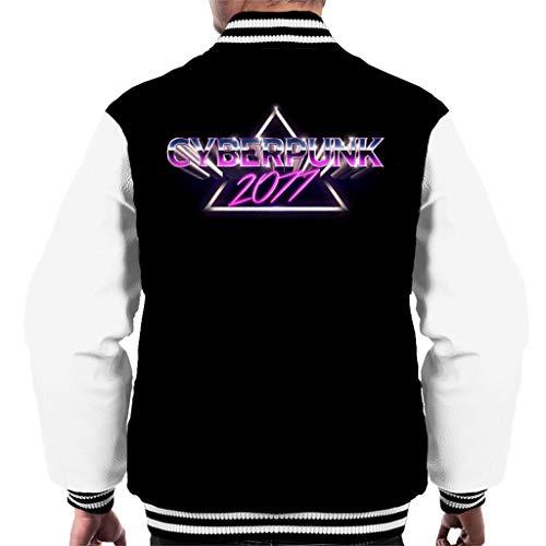 Cloud City 7 Cyberpunk 2077 Purple Men's Varsity Jacket