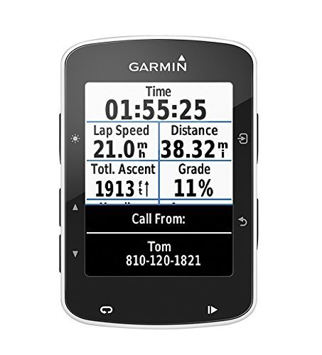 Garmin Edge 520 GPS-Fahrradcomputer - Performance- und Trainingsanalyse, Strava Live Segmente, 2,3 Zoll (5,8 cm) Display