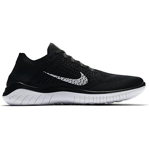 reputable site d6128 83f2f Nike Free RN Flyknit 2018, Zapatillas de Running para Hombre, Negro (Black