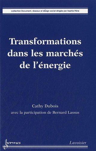 Transformations dans les marchés de l'énergie par Cathy Dubois, Bernard Lassus