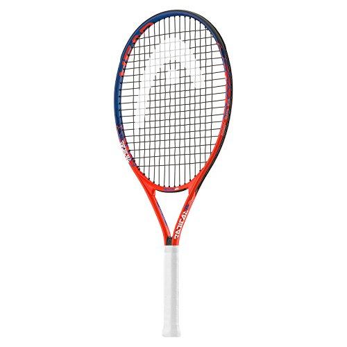 HEAD Radical 23 Raqueta de Tenis, Infantil, Naranja/Azul
