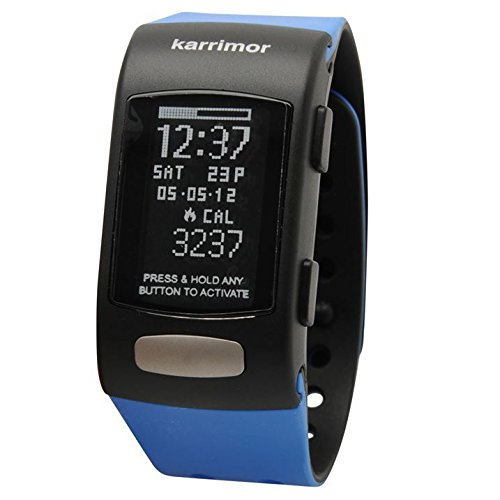 Karrimor Calorie Watch Counter Sport Running Fitness Exercise Workout Electric Blue One Size