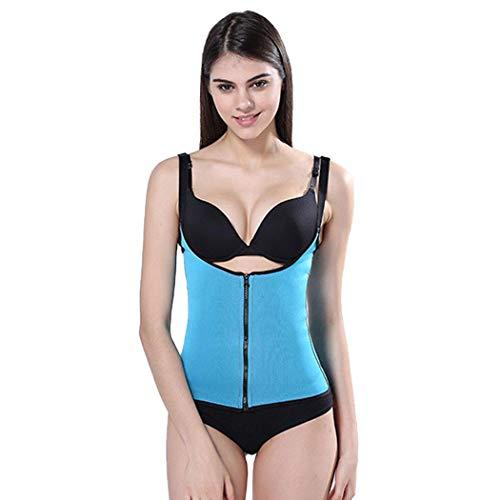 nimhes Frauen Einstellbare Korsett Reißverschluss Weste Cincher Shapewear Taille Trainer Unterwäsche Bodyformer & Korsetts