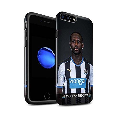 Offiziell Newcastle United FC Hülle / Glanz Harten Stoßfest Case für Apple iPhone 7 Plus / Rivière Muster / NUFC Fussballspieler 15/16 Kollektion Sissoko