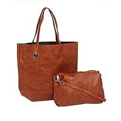 FUR JADEN Women's Tote Bag (Brown)