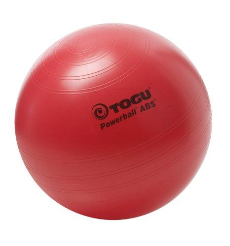 Togu Gymnastikball Powerball ABS (Berstsicher), rot, 35 cm