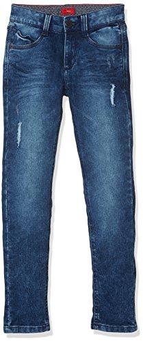 s.Oliver Jungen Jeans 61.709.71.3003, Blau (Blue Denim Stretch 56Z6), 140 (Herstellergröße: 140/SLIM)