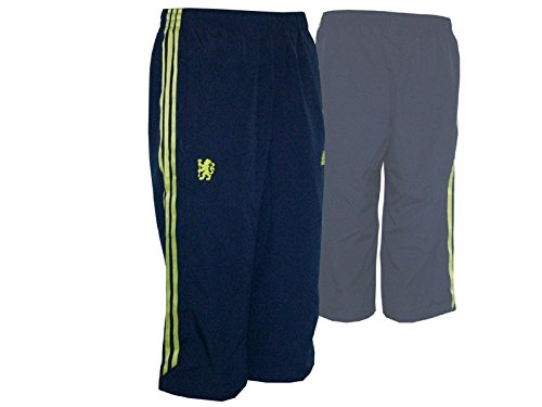 adidas Chelsea London 3/4 Pant/CFC Training Hose Short, Größe:S - Adidas Chelsea Trainings Trikot