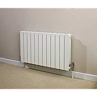 TowelRads Hanworth Horizontal Aluminium Radiator White 440mm x 668mm