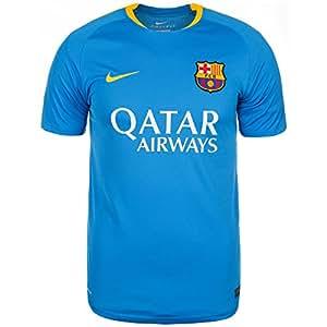 2015-2016 Barcelona Nike Training Shirt Blue Taille M
