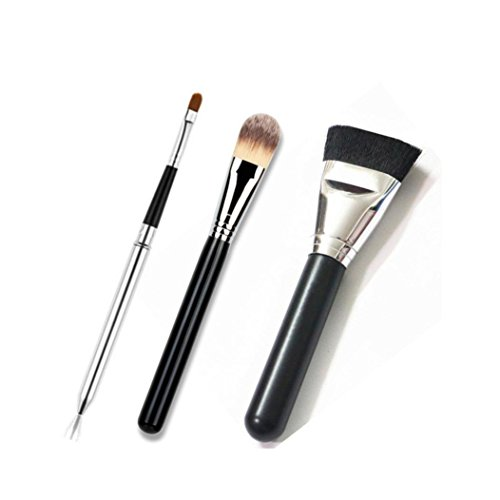 Ouneed® Brosse/3 PCS Makeup Cosmetic Brush (argent_1)