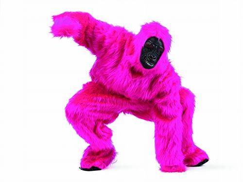Rosa Gorilla Kostüm - Gorilla Fun Kostüm perfekt für Karneval