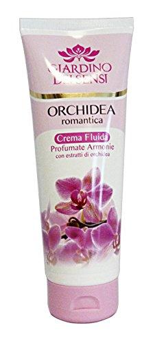 crema fluida per il corpo aromatica all' orchidea romantica 250 ml