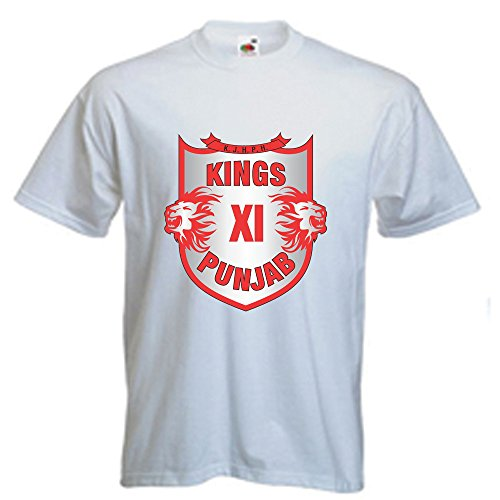 oll in one destination Sona - KXIP IPL PRINTED T-SHIRT_LARGE
