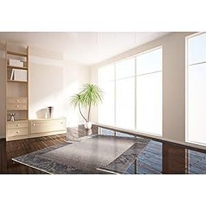Tapis rectangle contemporain pour salon taupe Bohème