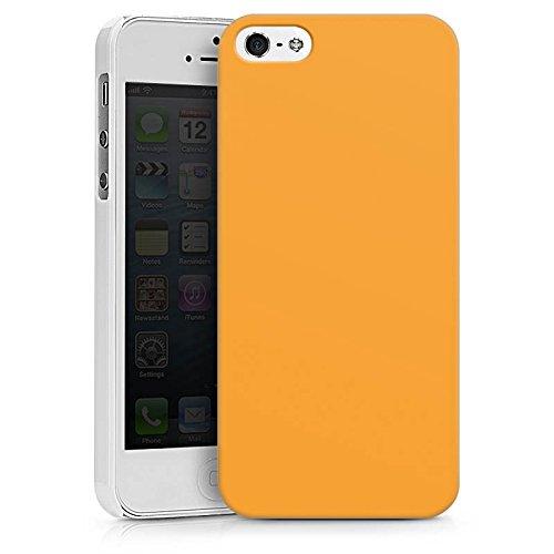 Apple iPhone X Silikon Hülle Case Schutzhülle Melonen Farbe Orange Hard Case weiß