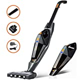 Stick Vacuum Cleaner, Hikeren 12000 PA Cordless Vacuum Cleaner, 2 in 1 Lightweight