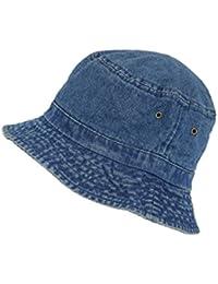 PETER RUTZ Fischerhut Jeans Used Look aus Baumwolle - verschiedene Farben