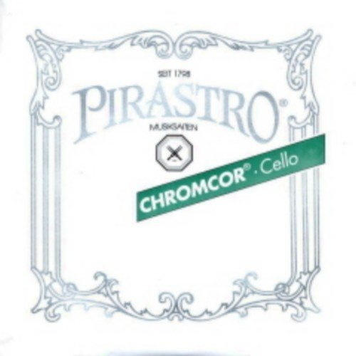 CUERDA VIOLONCELLO - Pirastro (Chromcor 339220) (Acero Cromo) 2ª Medium Cello 4/4 (Re) D (Una Unidad)