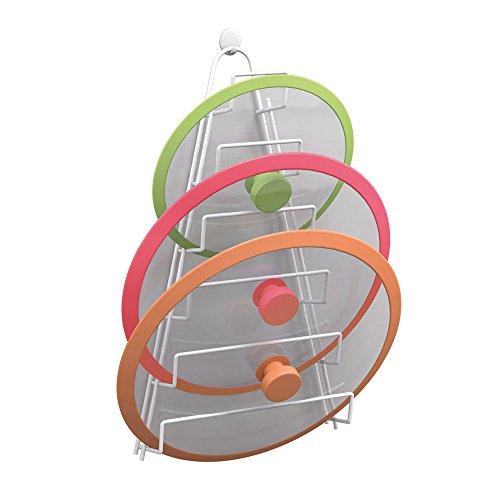 Metaltex 362806014 Kiwi Topfdeckelhalter, 6 Abdeckung