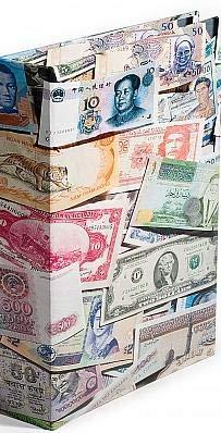 Leuchtturm 309759 Banknotenalbum Bills | Sammelalbum für bis zu 300 Banknoten | Inklusive 100 festeingebundene, säure- und weichmacherfreie Hüllen -