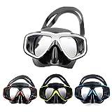 SSXY Masque de protection pour les yeux Masque de natation anti-buée pour adulte Lunettes de plongée Lunettes de plongée en apnée, couleurs aléatoires