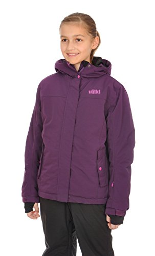 Völkl Performance Wear Kinder Skijacke Starlet Jacket, Blackberry, 164, 452302.452