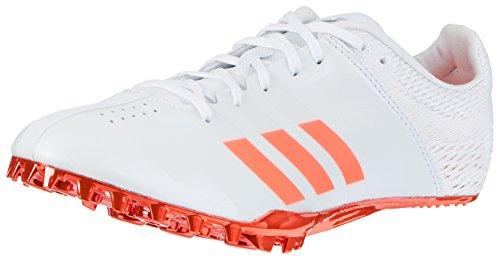 adidas Adizero Finesse, Zapatillas de Atletismo Unisex Adulto, Blanco (FTWR White/Solar Red/Silver...