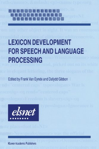 Lexicon Development for Speech and Language Processing (Text, Speech and Language Technology)