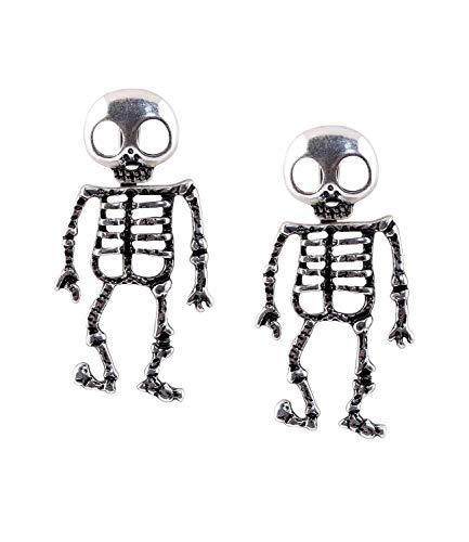 Ohrringe Skelett - SIX niedliche Ohrringe für Halloween und