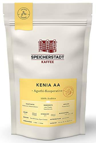 Speicherstadt - Kenia Ndurutu AB Kaffee ganze Bohnen - 250g