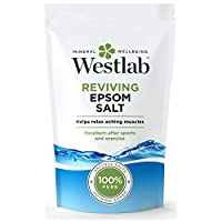 WESTLAB 100% Pure Reviving Epsom Salt, 1 Kg