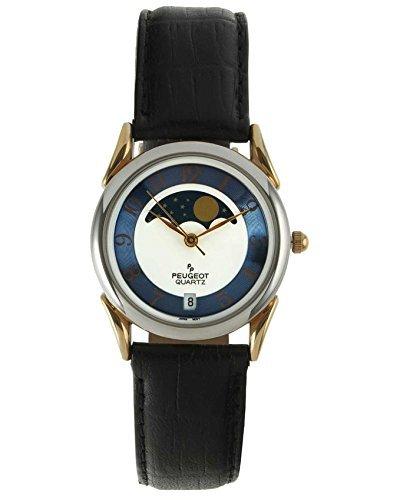 Peugeot Men's 547M Blue Dial Moon Watch