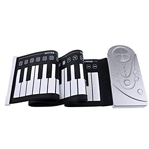 SUPVOX Elektronisches Keyboard mit 49 Tasten für Klavier, Damen, Mädchen - Mädchen-taste