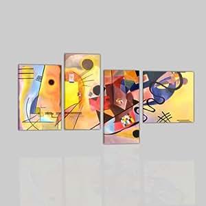 Quadri moderni astratti olio su tela dipinti a mano for Amazon quadri moderni astratti
