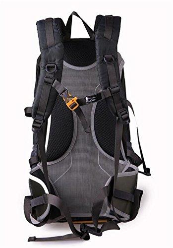 Großvolumige Außenberg Tasche Rucksack Freizeit-Reisetasche Grau