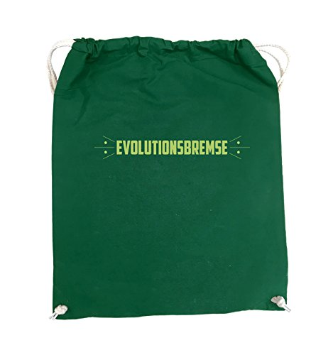 Buste Comedy - Evolution Brake - Turn Bag - 37x46cm - Colore: Nero / Verde Argento / Verde