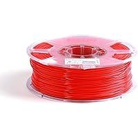 eSun 3D Filament - PLA, 1 kg, 1,75/3 mm - disponibile in diversi colori, pressione temperatura 190-220 ℃, per stampante 3D ad esempio MakerBot RepRap Maker Gear Ultimaker Mendel Huxlep UP Thing-o-matic, Universale